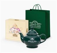 """Подарочный набор чая и посуды от """"Ahmad Tea"""" """"Afternoon Tea Collection"""", большой"""