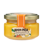 """Мёд кремовый с манго """"Качество доброго мёда"""", 120гр"""