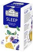 """Чайный напиток """"Ahmad Tea"""", """"Sleep"""", пакетики с ярлычками в индивидуальных конвертах, 20х1,5г"""