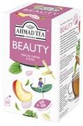 """Чайный напиток """"Ahmad Tea"""", """"Beauty"""", пакетики с ярлычками в индивидуальных конвертах, 20х1,5г"""