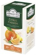 """Травяной чай """"Ahmad Tea"""" с апельсином и лимоном """"Цитрус пэйшн"""", в пакетиках в конвертах из фольги 20х2г"""