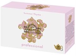 """Чай """"Ahmad Tea"""",""""Professional"""", Летний Чабрец, черный, листовой, в пакетиках для чайников, 20х5г"""